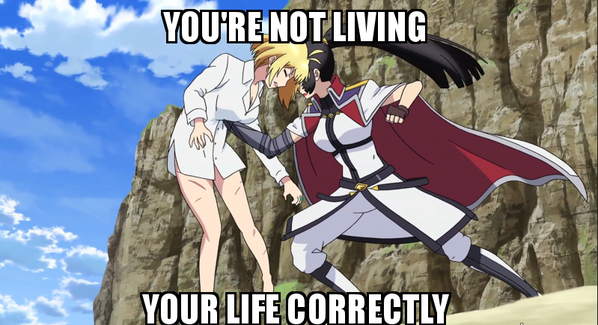 """""""Você não está vivendo sua vida corretamente!"""" Como fã de Index, não poderia deixar de"""